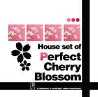 "House set of ""Perfect Cherry Blossom"""