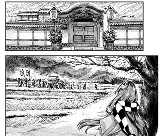 人类村落农田(铃奈庵37话18)