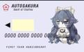 AUTOSAKURA/依神银行储蓄卡U盘