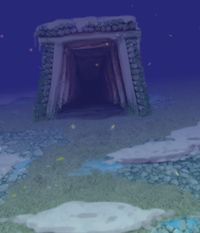 虹龙洞入口(虹龙洞三面场景)