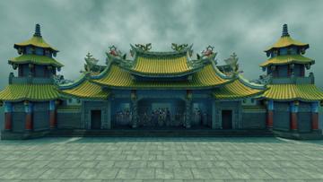 神灵庙(心绮楼场景)