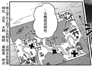 三妖精绘制的简单地图(三月精O3话9)