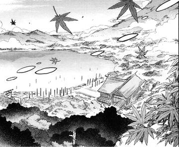 守矢神社与风神之湖(醉蝶华13话12)