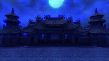 神灵庙(深秘录场景)夜