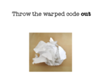 Throw the warped code out LOGO.png