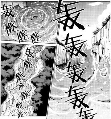 玄武涧河流俯视(三月精V11话8)